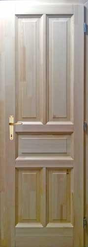 borovi fenyő ajtó